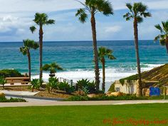 The waves hitting shore in Solana Beach, California, north of San Diego. Check on the full blog post on my time down the coast at http://www.barristourista.com/blog/2015/4/i-left-my-heart-in-solana-beach