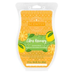 Some like it clean. Soothe your minimalist soul with sweet orange, lemon balm and rosemary fig. And did you know? Scentsy Bricks are nearly six times bigger than Scentsy Bars!