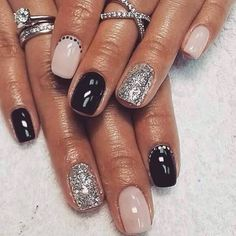 33 Gel Polish Nail Ideas To Try Now # fashionhijab . - 33 Gel Polish Nail Ideas To Try Now - Get Nails, Fancy Nails, Love Nails, How To Do Nails, Pretty Nails, Hair And Nails, Nagel Tattoo, Nagel Hacks, Dipped Nails
