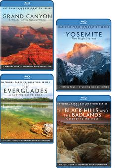 Giveaway! Win Four National Parks Exploration Series Blu-ray Documentaries | PopCultureGuy