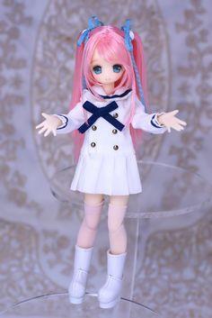 Picco Neemo Custom   Flickr - Photo Sharing! Kawaii Doll, Kawaii Cute, Anime Dolls, Blythe Dolls, Personajes Monster High, Doll Japan, Anime Figurines, Realistic Dolls, Dream Doll