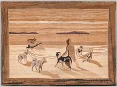 Grenfell-style Hooked Rug. | Lot 302 | Auction 3022M | Sold for $2,214