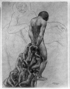 Kahlil Gibran - American (Bsharri, Ottoman Syria (now Lebanon) 1883 - 1931 New York City, USA).