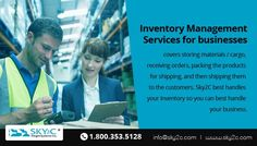 Inventory is much more than just goods that are to be sold by a business. Inventory, is the backbone of any business, helping the businesses make the accurate purchasing decisions and handling customer issues. For all your inventory management needs, Sky2C is your best and efficient choice.