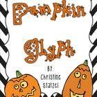 Cute pumpkin glyph - perfect for Halloween!