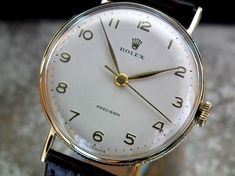 Vintage Watches Collection : Rolex - Watches Topia - Watches: Best Lists, Trends & the Latest Styles Amazing Watches, Beautiful Watches, Cool Watches, Rolex Watches, Stylish Watches, Luxury Watches For Men, Vintage Rolex, Vintage Watches, Expensive Watches