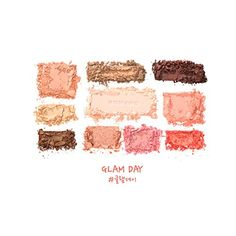 ROMAND Perfect Styling Eye Palette Glam Day *** You can find out more details at the link of the image.
