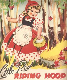 """by Ruth Lawler, """"8 Fairy Tales for Little Folk"""", Offset Printing Co. Ltd., 1947."""