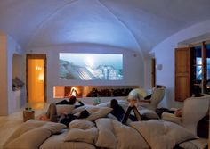 12 Stunning Home Theaters