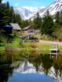 Crow Creek Mine in Girdwood, Alaska. hop off the Alaska Railroad's Glacier Discovery Train and spend some quality time in this historic village Alaska Cruise, Alaska Travel, Alaska Trip, Places To Travel, Places To Visit, North To Alaska, Alaska Usa, Alaska The Last Frontier, Ecuador