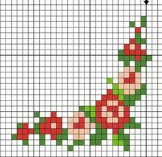 #crossstitch #kanaviçe #minik #çiçekler #little #flowers Tiny Cross Stitch, Simple Cross Stitch, Cross Stitch Borders, Cross Stitch Alphabet, Cross Stitch Flowers, Cross Stitch Charts, Cross Stitch Designs, Cross Stitching, Cross Stitch Embroidery