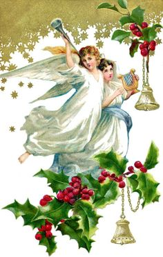 paintings of christmas angels | ... angels-angel-clipart-little ...