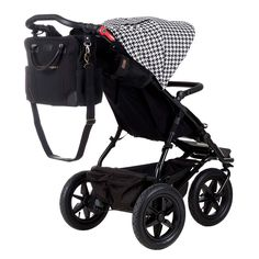 Mountain Buggy urban jungle pepita with parenting satchel bag (included)