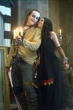 Shiloh & the Grave Robber from Repo! The Genetic Opera...one of the most bizarre musical movies I've ever seen!