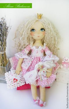 Коллекционные куклы ручной работы. Ярмарка Мастеров - ручная работа Папина принцесса. Handmade.