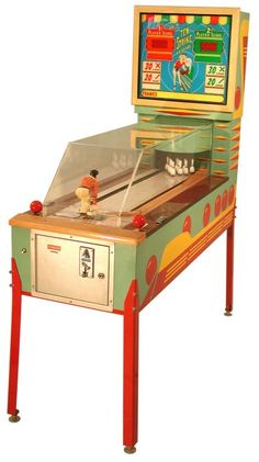 vintage arcade game   mechanical arcade games before the 1970 s every game in every arcade ...