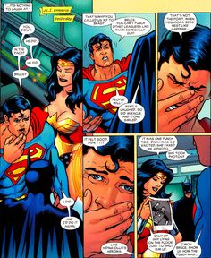 Superman: You didn't. Wonder Woman: He did. Superman: In the face? Wonder Woman: He did. Superman: Bruce? Batman: I did. And I'd do it again. Superman: That's why you called us in? To brag? Bruce, ...