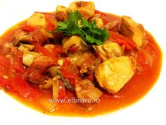 Tigaie picanta Bistro Food, Thai Red Curry, Ethnic Recipes