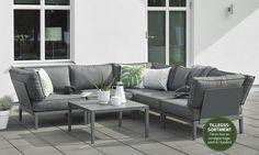 Bilde av MACKENZIE MODULSOFA, GRÅ 78X78 Outdoor Sectional, Sectional Sofa, Outdoor Furniture, Outdoor Decor, Hygge, Home Decor, Pictures, Modular Couch, Decoration Home