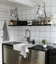 Industrial kitchen   TERTIAL lamps   live from IKEA FAMILY