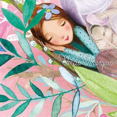 Mila Marquis - how sweet is this little illustration?