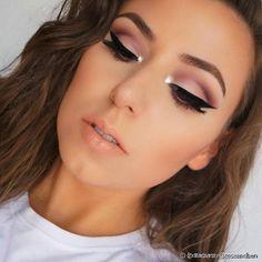 10 Make-up-Ideen für Abschlussfeiern - Maquillaje - . Makeup Brush Storage, Makeup Brush Cleaner, Makeup Brush Holders, Bridal Makeup, Wedding Makeup, Makeup Remover, Makeup Brushes, Lila Make-up, Beauty Makeup