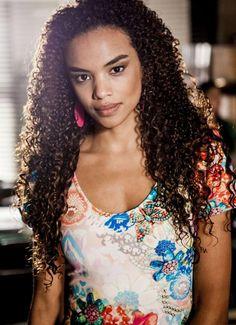 Lucy Ramos Negra Mais Bonita do Brasil