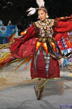 Pow WoW Fancy Dance   ... > Learn About Powwow Dancers: Page 2 of 7 - Women's Fancy Shawl