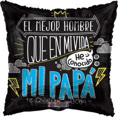 "Papá El Mejor Hombre 18"" Globo Met Padre, COD: V3521618, UPC Code: V3521618, Venta En Linea, Mayoreo Globos, Metálicos/Mylar/Metalizados, 18-22"", México. Teleglobos.com"