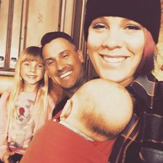 Family Portrait! Pink and Carey Hart Enjoy 'Date Night' with TheirKids