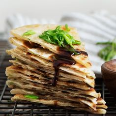 Taiwanese Scallion Pancake