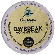 Keurig Caribou Coffee Daybreak Morning Blend KCup packs 48Count * Read more reviews of the product by visiting the link on the image.