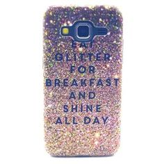"ZILONG Galaxy G360F Hard Back Case Polycarbonate Plastic Shock-Absorption Bumper and Scratch Resistant Protective Cover Case for Samsung Galaxy Core Prime G360F 4.5"" (Glitter Breakfast) http://www.amazon.co.uk/ZILONG-Polycarbonate-Shock-Absorption-Resistant-Protective/dp/B011HQ6KIQ/ref=sr_1_1?ie=UTF8&keywords=Samsung+G360F+case"
