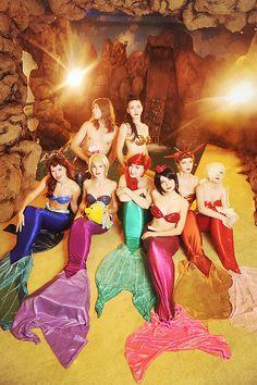 Mermaid group 2 by Usagi-Tsukino-krv.deviantart.com on @deviantART