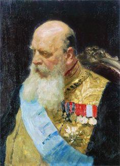 Portrait of Count D.M. Solsky, 1903  Ilya Repin