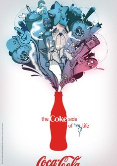 The Coke Side of Street Life: Urban Coca-Cola Art | Coca-Cola Art Gallery