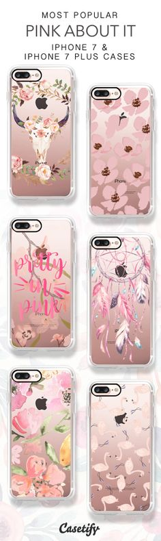 Most Popular Pink About It iPhone 7 Cases & iPhone 7 Plus Cases here > https://www.casetify.com/collections/pink_about_it#/