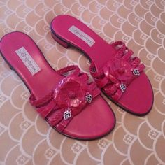Brighton red Opera sandals size 7M Brighton red Opera sandals size 7M Brighton Shoes Sandals
