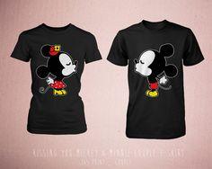 Disney Couple Matching Shirts  Cute Couples by 365inlovedotcom, $30.99