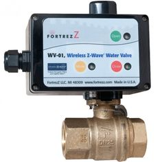 With this valve plumbed on your home's water main, you'll be able to control the water supply remotely through the Z-wave Home Automation system. This opens up a host of opportunities. When leaving home for vacation, you can have peace of mind knowing that nothing will go wrong with appliances. If an appliance leaks, for example, flood sensors can detect it, shutting off the water supply automatically to limit damage. In the meantime, you'll be notified by phone so that you can get right on…