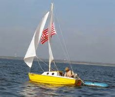 13' Guppy Sail Boats, Dinghy, Guppy, Seas, Serenity, Transportation, Sailing, Cruise, Mini