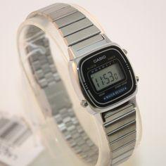 Reloj Casio Mujer Clásico Esfera Negra ee3cfe68a509