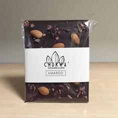 Chocolate Amargo con Almendras y Nibs de Cacao Criollo