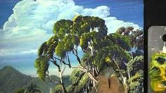 How to Paint Leaves on Trees in oils or acrylic., via YouTube.
