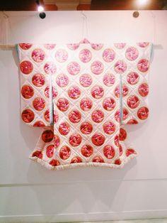 Sanae Hattori's quilted kimono