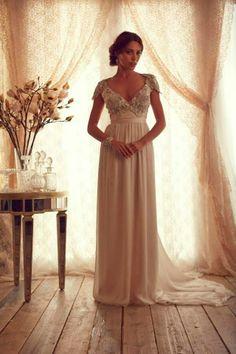 Maravillosos vestidos de novia   Colección Anna Campbell 2014
