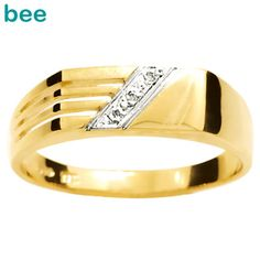 a1cc0259681 Buy our Australian made Mens Gold Ring with Diamonds - online. Explore our  range of custom made chain jewellery