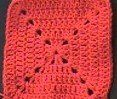 written instructions for Crochet Solid Granny Square - 5 rounds. I want to make a blanket :)