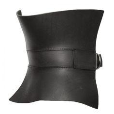 Gareth Pugh Leather Corset Belt Must have @Jennifer Parkin Morte : THEY ARE LISTENING!!!