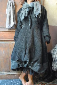 "fab coat from ""Chez Fifi"" - a blog for all who love french shabby chic"